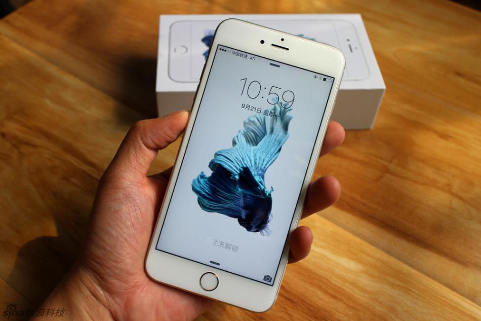 iphone 6s与6s plus机器实拍