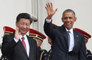 习近平出席白宫欢迎仪式