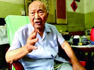 95岁老兵感叹:如果不抗战 就被亡国灭种啊!