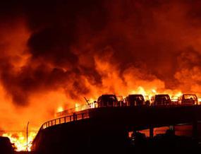 """""""8·12""""天津港爆炸事故173人遇难"""