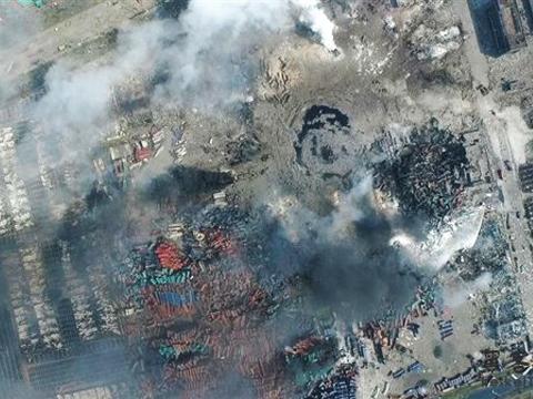 天津市滨海新区发生爆炸事故