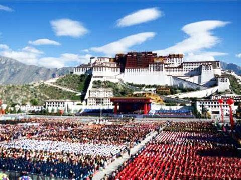 热烈庆祝西藏自治区成立50周年