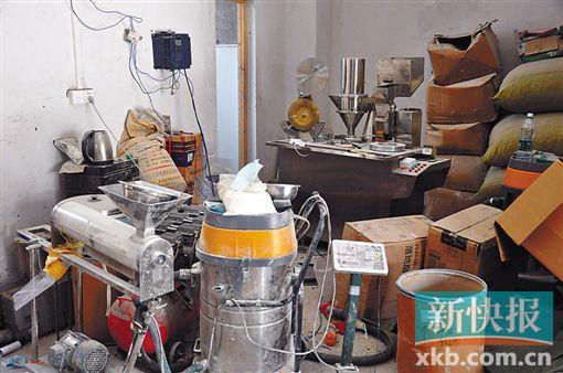 """团伙1年制1亿粒假""""伟哥"""" 产品流入北京安徽"""