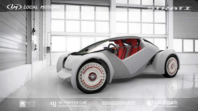 Local Motors全3D打印汽车十月开放预订