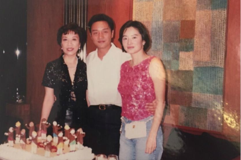林青霞张国荣私下旧照曝光 友情动人