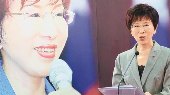 洪秀柱坚持参选2016 国民党称将持续沟通