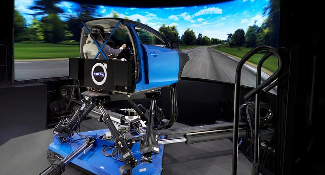 沃尔沃购买全球先进底盘模拟器 加速车辆研发