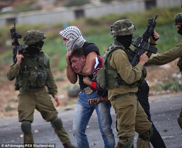 以色列警察卧底巴勒斯坦示威者 枪伤3人