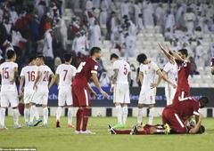 世预赛-国足0-1卡塔尔跌至第三 吉翔乌龙助攻