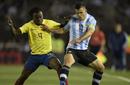 世预赛-阿根廷0-2厄瓜多尔 阿圭罗遗憾伤退