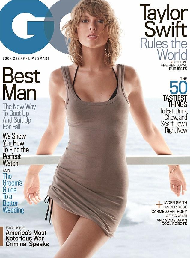 泰勒·斯威夫特首登男性时尚杂志《GQ》封面