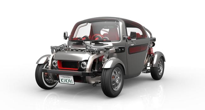 东京车展抢先看:丰田KIKAI复古概念车发布