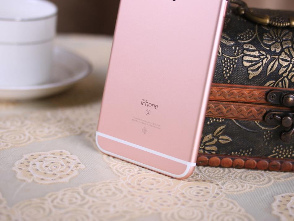 玫瑰金苹果iphone6s