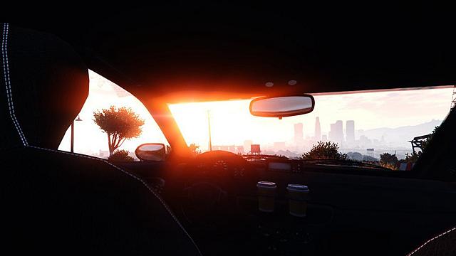 《GTA5》华丽截图定格精彩瞬间 别人的世界
