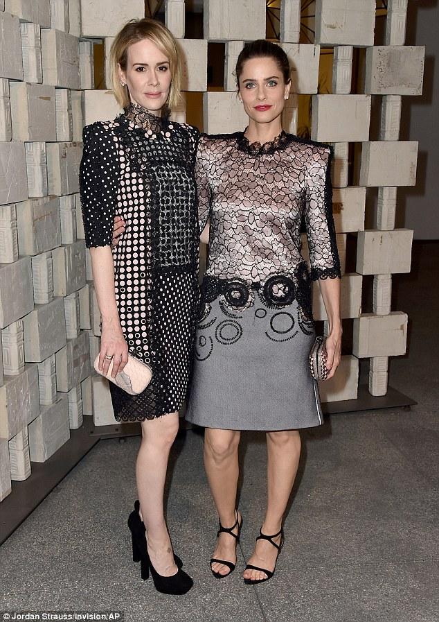 《美国恐怖故事》女主莎拉•保罗森出席海默博物馆年度庆典