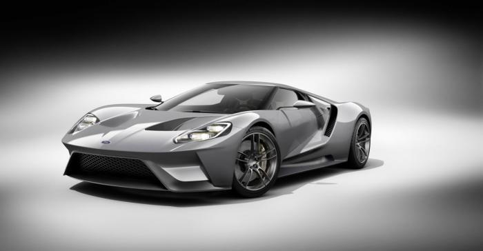 2017款福特GT超跑或选配碳纤维轮毂