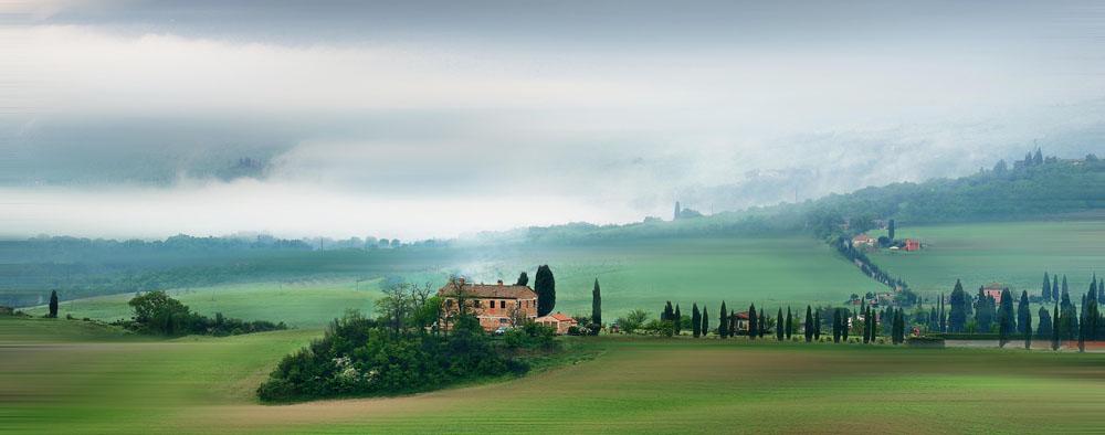 意大利托斯卡纳山间美景