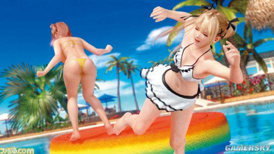 《死或生:沙滩排球3》清凉截图公布(图)