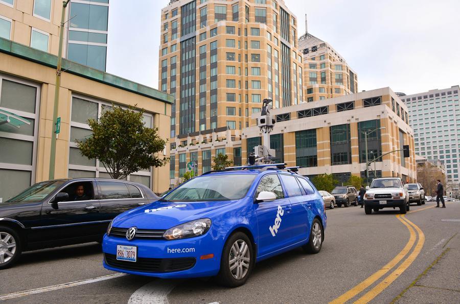 诺基亚HERE地图服务将助力无人驾驶汽车研发