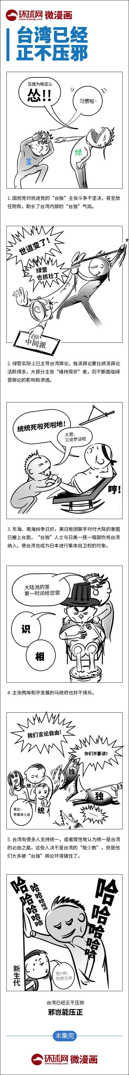 台湾已经邪不压正(图)