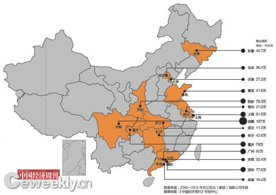 揭李嘉诚旗下长江实业版图:9成土地储备在内地