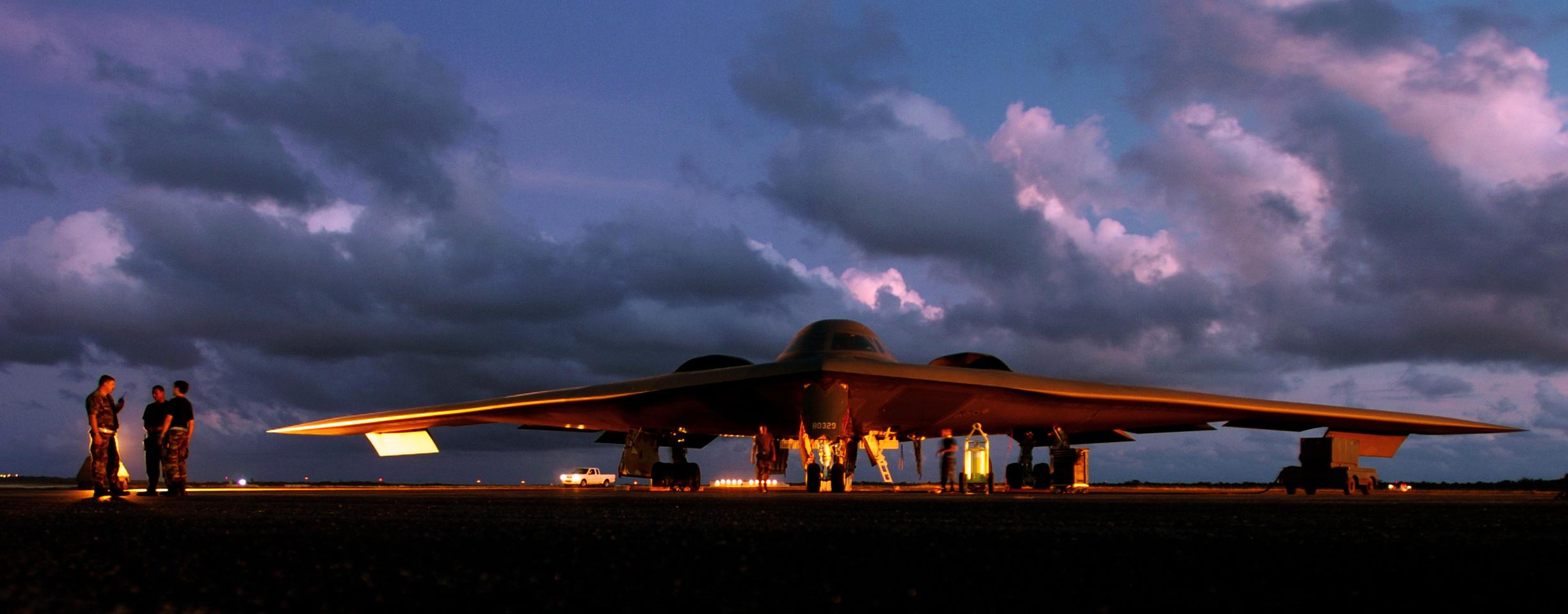 美国空袭中国最可能的阵型
