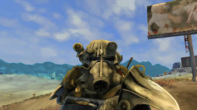 这个ENB有点牛!玩家打造油画版《辐射3》
