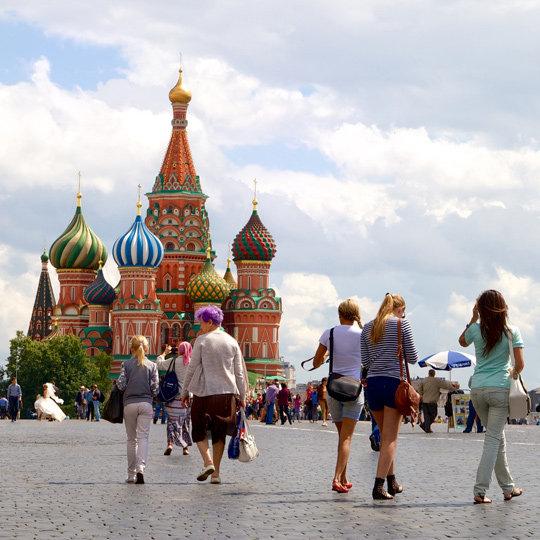 莫斯科24hr :如血残阳照红场