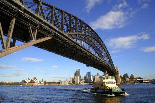 悉尼24hr:歌剧院背后的文艺气息