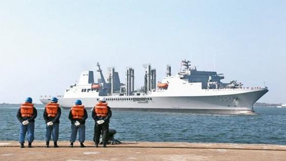 """""""盘石舰""""行踪全暴露 台湾海军开启AIS系统遭批"""