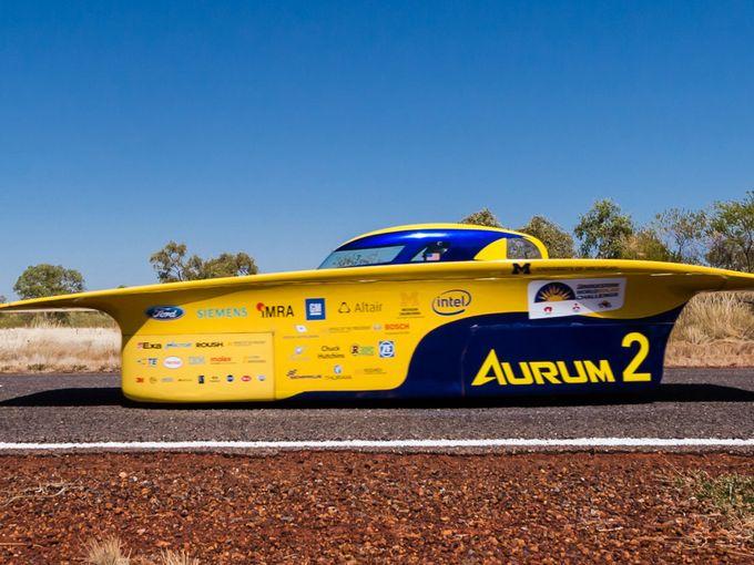 2015世界太阳能汽车挑战赛澳大利亚火热开赛