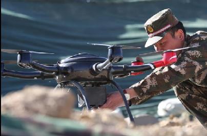 西藏稳边控边压力大 出动无人机和声波武器