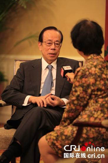 日前首相福田康夫:坚持对话比什么都重要