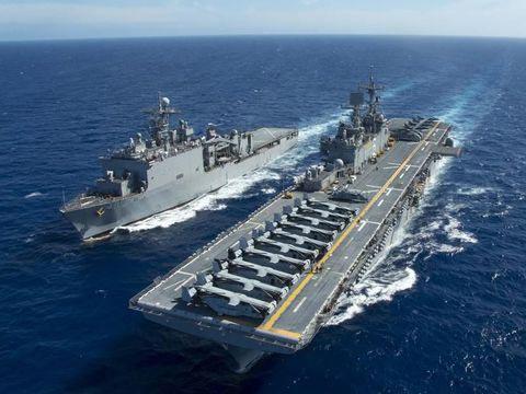外媒:美将定期巡航中国南海 航母也将加入