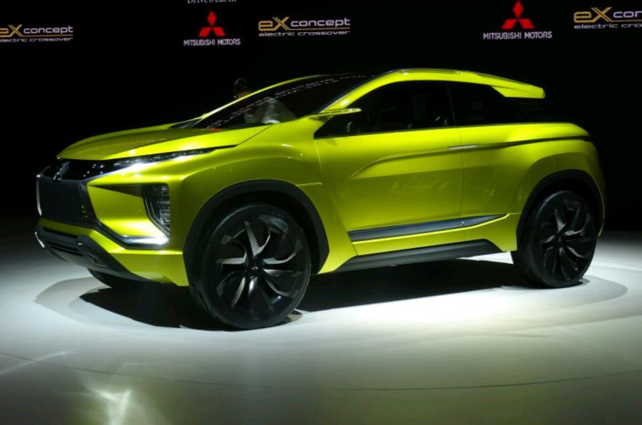 三菱eX纯电动SUV东京车展发布 可续航399公里