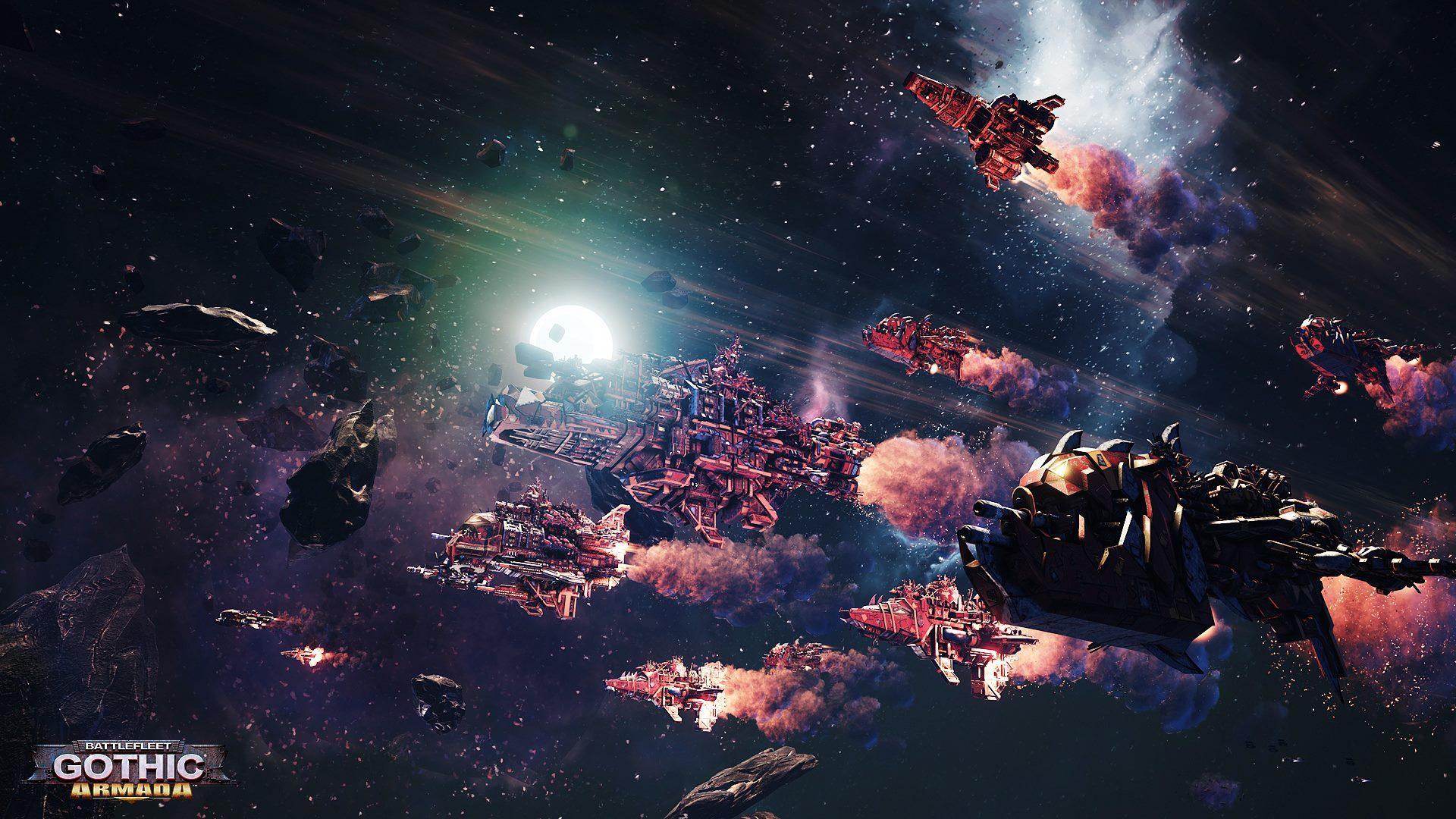 《哥特舰队:阿玛达》新截图 飞船造型特霸气