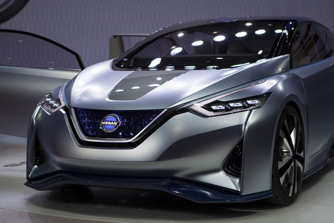 日产IDS电动概念车亮相东京 采用双驾驶模式