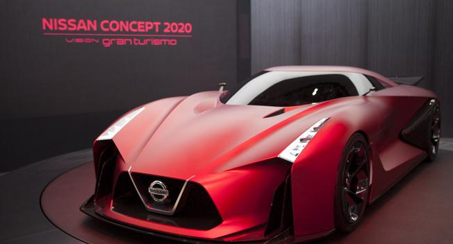 日产2020 Vision Gran Turismo概念车首秀_汽车_环球网