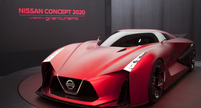 日产2020 Vision Gran Turismo概念车首秀