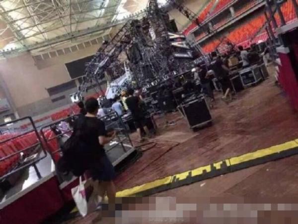 蔡依林发文回应舞台坍塌事故:为伤员祈祷