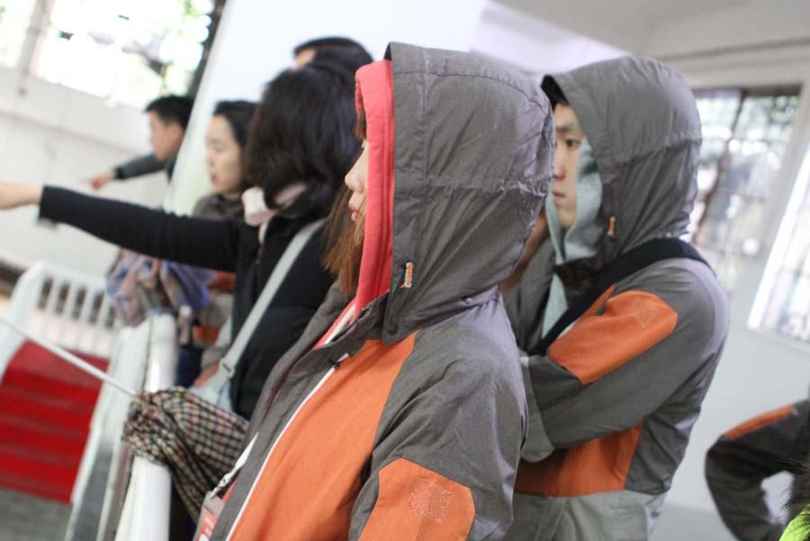 韩国青年代表团参观兵马俑
