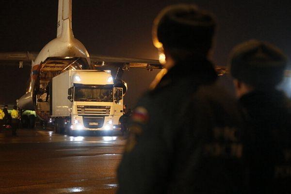 失事客机遇难者遗体开始运回俄罗斯 四国专家参与调查