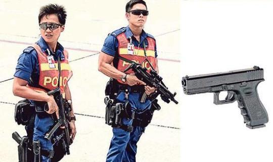 香港机场警枪走火 同款枪支5年5次走火(图)