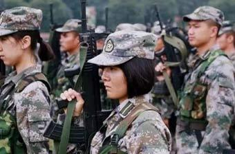 解放军军校女学员最美瞬间