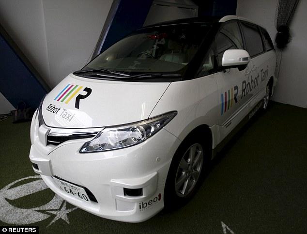 日本研发无人驾驶出租车 2020年东京奥运会服役