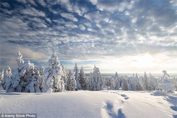 北芬兰冬季旅游胜地