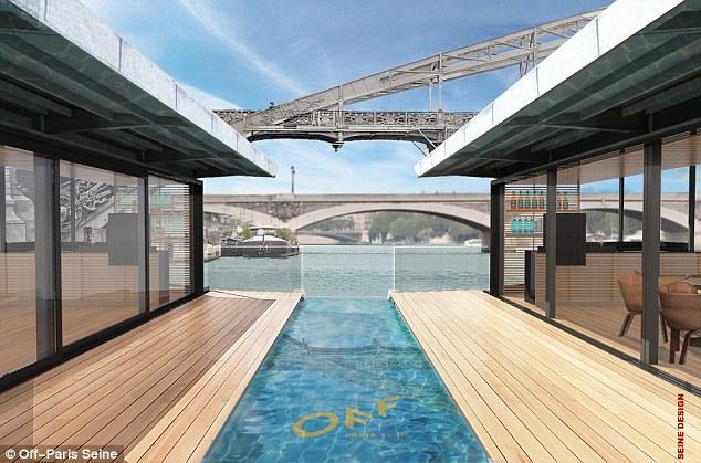 塞纳河新游法:巴黎首座漂浮酒店
