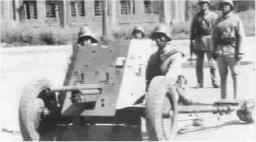 """国军37毫米战防炮:砸烂日军坦克的""""铁拳"""""""