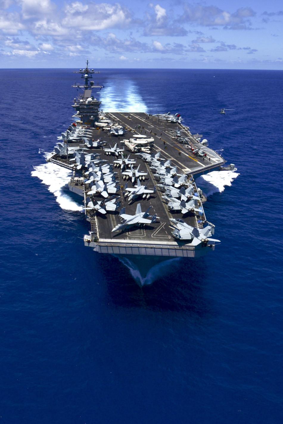 美媒称中国海军不够强 只能靠水雷导弹威胁美军战友
