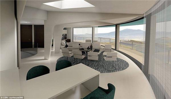 """西班牙将建向日葵""""太阳能别墅每15分钟调整一次"""